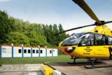 ADAC-Mitarbeiter der Luftrettungsstation Christoph 8 in Lünen nutzen HKL Containeranlage.