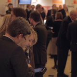 Die interaktive Anwendung von Mobile Event macht den Deutschen Handelskongress mobil.