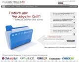 Neues Verbraucherportal myCONTRACT24.de für professionelles Vertragsmanagement