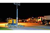Leistungsstarke Lichtgiraffen aus dem HKL MIETPARK waren unermüdlich im Einsatz.