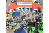 HKL BAUMASCHINEN präsentiert sein umfangreiches Angebot an Mietmaschinen auf der NordBau 2013.