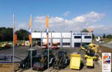 Im HKL Center Graz finden Kunden Qualitätsprodukte führender Baumaschinen-Hersteller samt Zubehör.