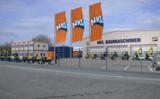 Das neue HKL Center in Langenfeld bietet Baumaschinen, Fahrzeuge und Container.