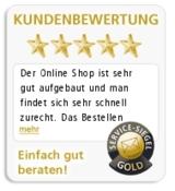 Das Service-Siegel in Gold: Exzellenter Kundenservice