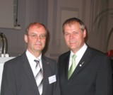 li. Diözesancaritasdirektor Monsignore Wolfgang Tripp, Senator h.c. Gerhard R. Daiger