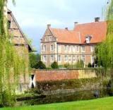 Schloss Hülshoff bei Havixbeck, Geburtsstätte der Dichterin Annette von Drote Hülshoff