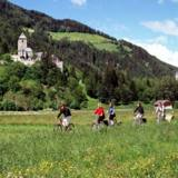 Radwandern zwischen Wein, Wellness und Kultur in Südtirol