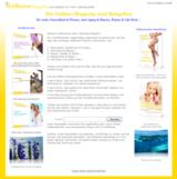 Die Homepage von Ihr-Wellness- Magazin