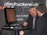 Kundenberatung wird auch in der Onlinedruckerei www.diedruckerei.de groß geschrieben.