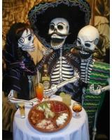 Den Día de los Muertos auf einer faszinierenden Mexiko Rundr