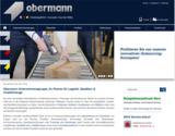 Neue und moderne Website für die Obermann Unternehmensgruppe