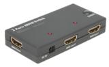 2fach HDMI Switcher DVS 201-A von ViTecco
