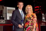 M. Frings und Birte Karalus beim Beste Marken Award 2011