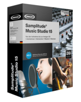 Packshot Samplitude Music Studio 15