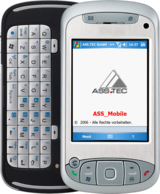 PDA für die mobile Kundendienstllösung ASS_Mobile