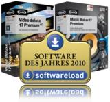 """Preisträger bei """"Software des Jahres 2010"""""""