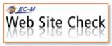 Grafik zeigt das Logo Kostenloser Website Check