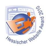 Logo Hessischer Website Award 2010