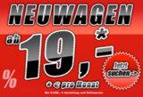 Neuwagen ab 19 Euro pro Monat
