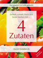 """Der Klassiker """"Vier Zutaten"""" erscheint in einer aktualisierten Neu-Auflage."""