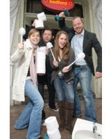 """""""Klo-Opening-Party"""" anlässlich des Toiletten-Makeovers von 00 null null am 21. Januar im """"Bedford"""""""