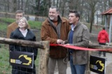 Hardy Krüger jr weiht Hundewiese in Berlin ein