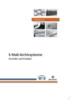 Marktübersicht - E-Mail-Archivsystem - Hersteller + Produkte
