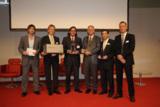 Verleihung des Innovationspreises auf der DMS 2008