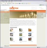 Online-Katalog der RÖFIX AG mit eZ Publish