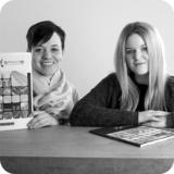 Neue Sprintis Mitarbeiterinnen: Maria Bethge (li.) und Carolin Nagelstutz (re.)