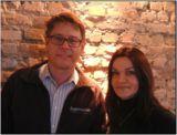 Marcel und Regina Kayser, Geschäftsführer der Firma Regenmeister GmbH in Darmstadt.