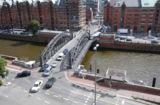 Die Brooksbrücke in Hamburg. Abb: LSBG Hamburg