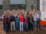 Das Team der codia Software GmbH vor dem neuen Firmengebäude in Meppen. Abb: codia Software GmbH