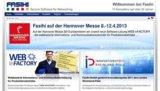 Auf der Hanover Messe 2013 wird Fasihi WEB inFACTORY präsentieren. Foto: Fasihi GmbH.