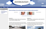 Screenshot des neuen Doppelblog-Moduls.