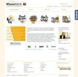 Die neue Startseite der Wissensfabrik Deutschland
