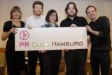 Ute Holtmann, Moritz Eckert, Maren Heltsche, Jens Best, Christian Clawien; Foto: Michael B. Rehders