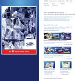 Die Tempo Website im Jubiläumslook