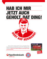 """BBH lässt den """"Tiger"""" für das  FC Bayern Banking der HypoVereinsbank brüllen"""