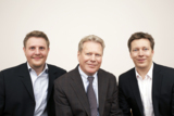 BU von links nach rechts: Sebastian Epe, Peter Pfeiffer, Dominik Pfeiffer