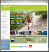 Sport-Schuster.de lädt zum Shoppen ein