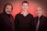 BU (von li na re): Prof. Hansjörg Zimmermann, Prof. Dr. Guido Ellert und Prof. Dr. Dr. Castulus Kolo