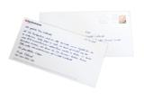 Das handgeschriebene Mailing der Hypo Vereinsbank