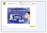 coma AG realisiert Online-Kampagne für  Tempo ice