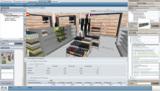 Die 3D-Planungssoftware P'X5 Store Solution verknüpft Ladenbau und Sortimentierung