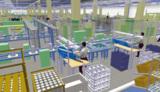 Mit teilsimulierten 3D-Modellen unterstützt die Software taraVRbuilder die Montageplanung