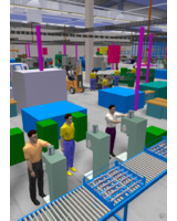 3D-Fabrikplanung mit der Software taraVRbuilder