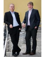 Die Geschäftsführer der tarakos GmbH: Christian Höpner und Herbert Beesten