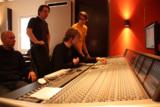 im Tonstudio der msg Berlin