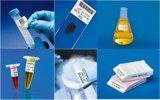 Laboretiketten für den Einsatz in Flüssigstickstoff und Autoklaven
